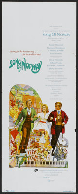 """Song of Norway (Cinerama Releasing, 1970). Insert (14"""" X 36"""") and Lobby Card Set of 8 (11"""" X 14""""). M..."""