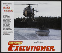 "One Armed Executioner (Super-Pix, 1983). Lobby Card Set of 20 (11"" X 14""). Action. ... (Total: 20 Items)"