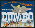 "Movie Posters:Animated, Dumbo Lot (Buena Vista, R-1972). Lobby Card Set of 5 and Lobby Card Set of 9 (11"" X 14"") . Animated.. ... (Total: 14 Items)"