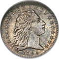 Early Half Dimes, 1794 H10C MS60 NGC....
