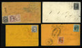 Stamps, Useful Early U.S. Postal History Assortment.... (Total: 16 Card)