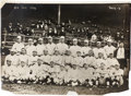Baseball Collectibles:Photos, 1916 Boston Red Sox with Babe Ruth Photograph from Culver PicturesArchives....