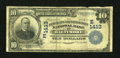 National Bank Notes:Maryland, Baltimore, MD - $10 1902 Plain Back Fr. 632 The Merchants-MechanicsFirst NB Ch. # (E)1413. ...