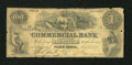 Obsoletes By State:New Jersey, Perth Amboy, NJ- Commercial Bank of New Jersey $1 July 10, 1856. ...