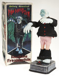 Antiques:Toys, Battery Operated Mod Monster Blushing Frankenstein in the Original Box....
