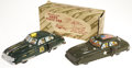 Antiques:Toys, Marx Dick Tracy Squad Car and Army Staff Car.... (Total: 2 Items)