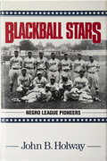 Autographs:Others, Negro League Multi- Signed Book...