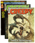 Magazines:Horror, Creepy Group (Warren, 1966-78) Condition: Average FN.... (Total: 23 Comic Books)