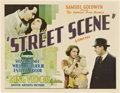 "Movie Posters:Drama, Street Scene (United Artists, 1931). Half Sheet (22"" X 28"").. ..."