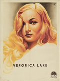 "Movie Posters:Film Noir, Veronica Lake Personality Poster (Paramount, 1944). French AfficheMoyenne (23"" X 31.5"").. ..."