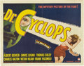 """Movie Posters:Horror, Doctor Cyclops (Paramount, 1940). Half Sheet (22"""" X 28"""").. ..."""