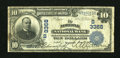 National Bank Notes:Virginia, Norfolk, VA - $10 1902 Plain Back Fr. 624 Norfolk NB Ch. # (S)3368....