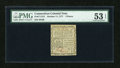Colonial Notes:Connecticut, Connecticut October 11, 1777 3d PMG About Uncirculated 53 EPQ....