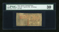 Colonial Notes:New Jersey, New Jersey April 16, 1764 30s PMG Very Fine 30....