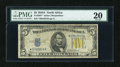 Small Size:World War II Emergency Notes, Fr. 2307* $5 1934A North Africa Silver Certificate Star Note. PMG Very Fine 20.. ...