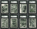 "Non-Sport Cards:General, 1960 Ad-Trix Co. ""Tales of the Vikings"" High Grade Complete Set (66)..."