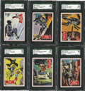 "Non-Sport Cards:General, 1966 Topps Batman ""Series A"" Complete Set (44). ..."