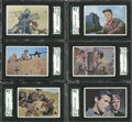Non-Sport Cards:General, 1966 Topps Rat Patrol High Grade Complete Set (66). ...