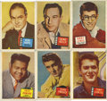 "Non-Sport Cards:General, 1957 Topps ""Hit Stars"" Group of (60). ..."
