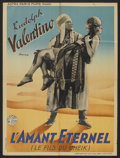 "Movie Posters:Adventure, The Son of the Sheik (Astra Paris Films, R-1930s). French Petite (23.5"" X 31""). Adventure.. ..."