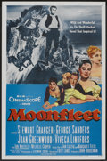 "Movie Posters:Adventure, Moonfleet (MGM, 1955). One Sheet (27"" X 41"") and Title Lobby Card (11' X 14""). Adventure.. ... (Total: 2 Items)"