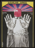"Movie Posters:Crime, The Sugarland Express (Universal, 1975). Polish One Sheet (23"" X32""). Crime.. ..."