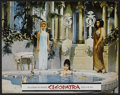"Movie Posters:Historical Drama, Cleopatra Lot (20th Century Fox, 1963). Lobby Cards (7) (11"" X14""). Historical Drama.. ... (Total: 7 Items)"