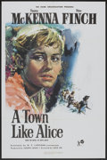 "Movie Posters:War, A Town Like Alice (Rank, 1958). British One Sheet (27"" X 40"").War.. ..."