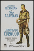 "Movie Posters:Drama, The Alaskan (Paramount, 1924). One Sheet (27"" X 41"") Style A.Drama.. ..."