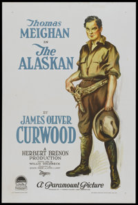 "The Alaskan (Paramount, 1924). One Sheet (27"" X 41"") Style A. Drama"