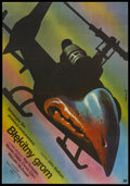 "Movie Posters:Action, Blue Thunder (Polfilm, 1984). Polish One Sheet (26.5"" X 38""). Action.. ..."