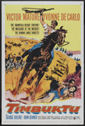 "Movie Posters:Adventure, Timbuktu (United Artists, 1959). One Sheet (27"" X 41""). Adventure....."