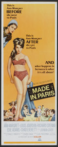 "Movie Posters:Comedy, Made in Paris (MGM, 1966). Insert (14"" X 36""). Comedy.. ..."