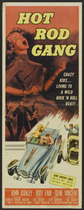 "Movie Posters:Cult Classic, Hot Rod Gang (American International, 1958). Insert (14"" X 36"").Cult Classic.. ..."
