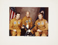 Explorers:Space Exploration, Skylab 1 (SL-2) Crew-Signed Color Photo Directly from the PersonalCollection of Mission Pilot Paul Weitz....