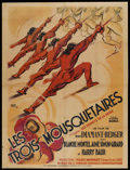 "Movie Posters:Action, The Three Musketeers (Universelle, 1933). French Grande (47"" X63""). Action.. ..."