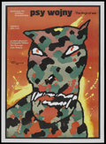 """Movie Posters:War, The Dogs of War (United Artists, 1984). Polish One Sheet (26.75"""" X38""""). War.. ..."""