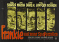 "Movie Posters:Crime, Ocean's 11 (Warner Brothers, 1961). German A0 (33"" X 47""). Crime....."