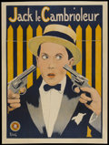 "Movie Posters:Comedy, Jack le Cambrioleur (Super Film, 1920s). French Grande (47"" X63"").. ..."