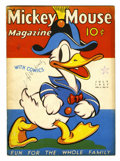 Platinum Age (1897-1937):Miscellaneous, Mickey Mouse Magazine V2#10 (K. K. Publications, Inc., 1937)Condition: FN-....