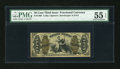 Fractional Currency:Third Issue, Fr. 1370 50c Third Issue Justice PMG About Uncirculated 55 EPQ....