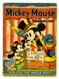 Platinum Age (1897-1937):Miscellaneous, Mickey Mouse Magazine V2#13 (K. K. Publications, Inc., 1937)Condition: GD....