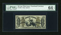Fractional Currency:Third Issue, Fr. 1362 50c Third Issue Justice PMG Choice Uncirculated 64 EPQ....
