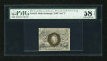 Fractional Currency:Second Issue, Fr. 1318 50c Second Issue PMG Choice About Unc 58 EPQ....