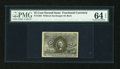 Fractional Currency:Second Issue, Fr. 1283 25c Second Issue PMG Choice Uncirculated 64 EPQ....