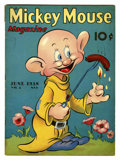 Golden Age (1938-1955):Cartoon Character, Mickey Mouse Magazine V3#9 (K. K. Publications, Inc., 1938)Condition: VG+....