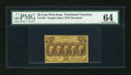 Fractional Currency:First Issue, Fr. 1281 25c First Issue PMG Choice Uncirculated 64....