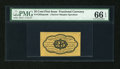 Fractional Currency:First Issue, Fr. 1282SP 25c First Issue Narrow Margin Specimen PMG Gem Uncirculated 66 EPQ....