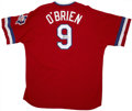 Autographs:Jerseys, Pete O'Brien Signed Jersey....