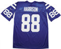 Football Collectibles:Uniforms, Marvin Harrison Signed Colts Jersey....